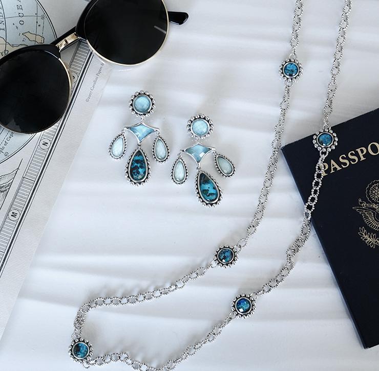 chrysocolla gemstone maya collection