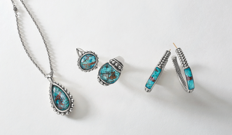 chrysocolla maya collection gemstones for spring