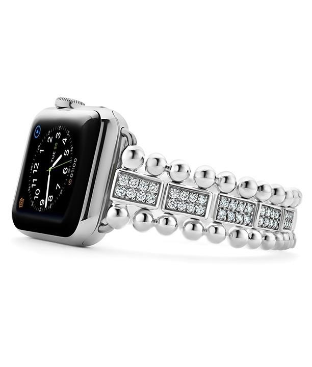 Diamond Smart Caviar Watch Bracelet