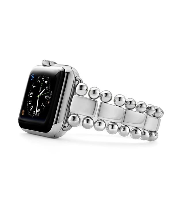 Stainless Steel Smart Caviar Watch Bracelet