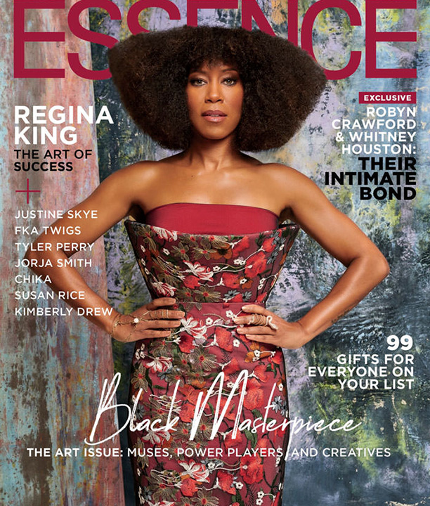 January 2020 Essence Magazine cover featuring Regina King
