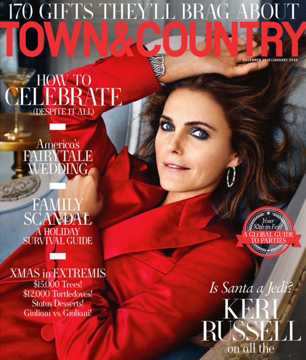 Town & Country December 2019 Cover