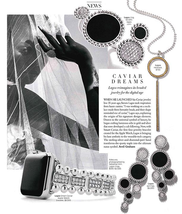 LAGOS Fall Preview in Harper's Bazaar