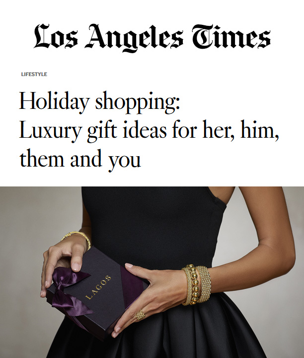 LA Times Gift Guide - Holiday shopping: Luxury gift ideas for her, him, them and you