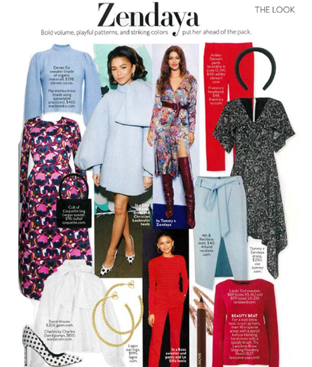 Instyle Shop the Look feature