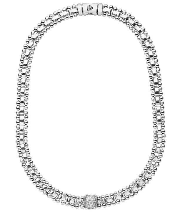 LAGOS Caviar Spark Diamond Necklace