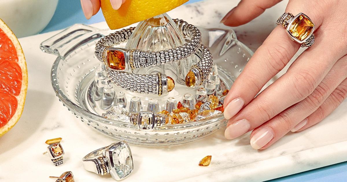 caviar spark rings