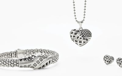 An exclusive necklace designed in support of Keep Memory Alive